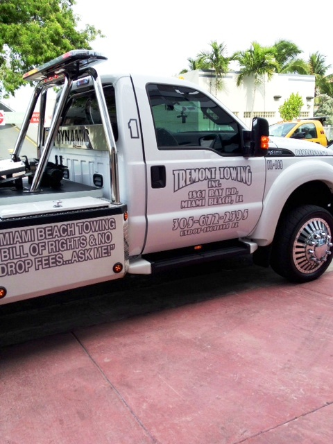 This Past Holiday Weekend The Gang Over At Tremont Towing 1861 Bay Road Miami Beach Florida Sure Was Busy
